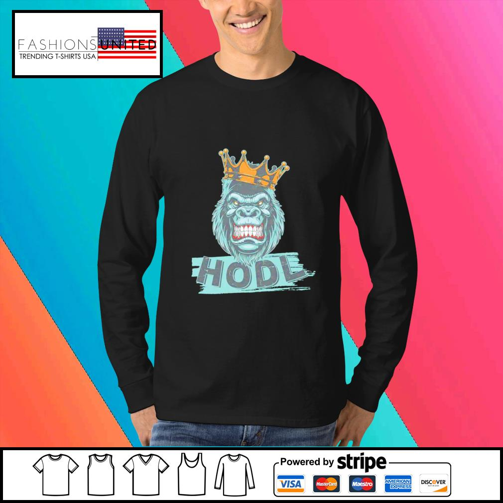 King gorilla apes hodl wall street stock s Sweater