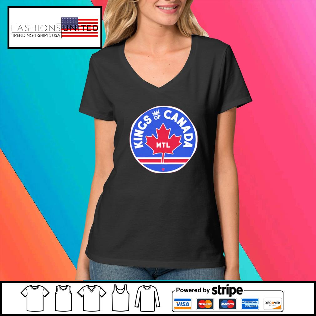 Montreal Hockey Kings of Canada shirt, hoodie, sweater and tank top V-neck-t-shirt