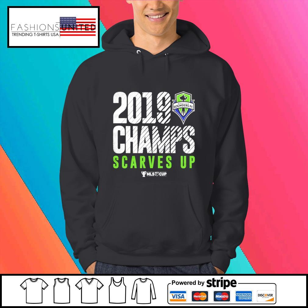 Seattle Sounders FC 2019 MLS Cup Champions s Hoodie