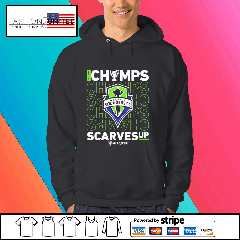 Seattle Sounders FC Champs scarves up s Hoodie