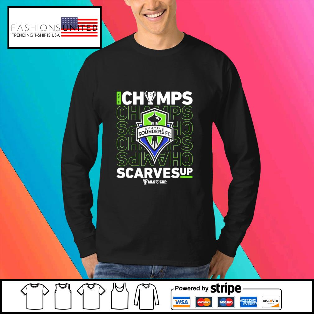 Seattle Sounders FC Champs scarves up s Sweater