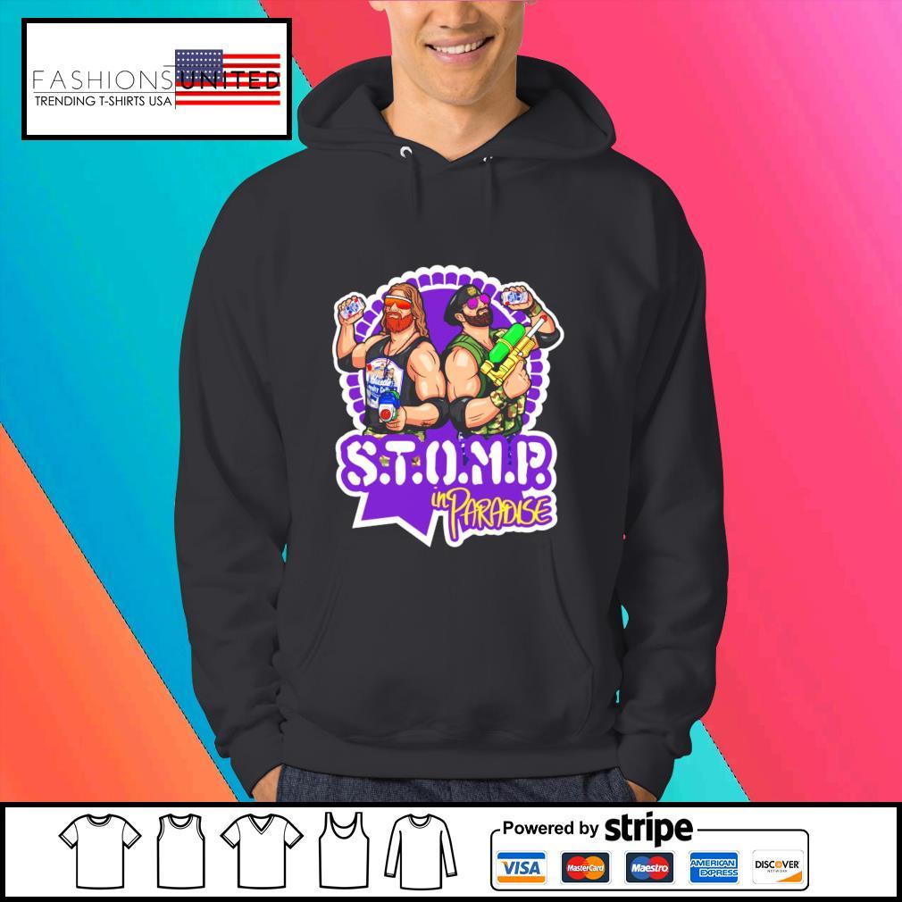 STOMP in paradise shirt, hoodie, sweater and tank top Hoodie