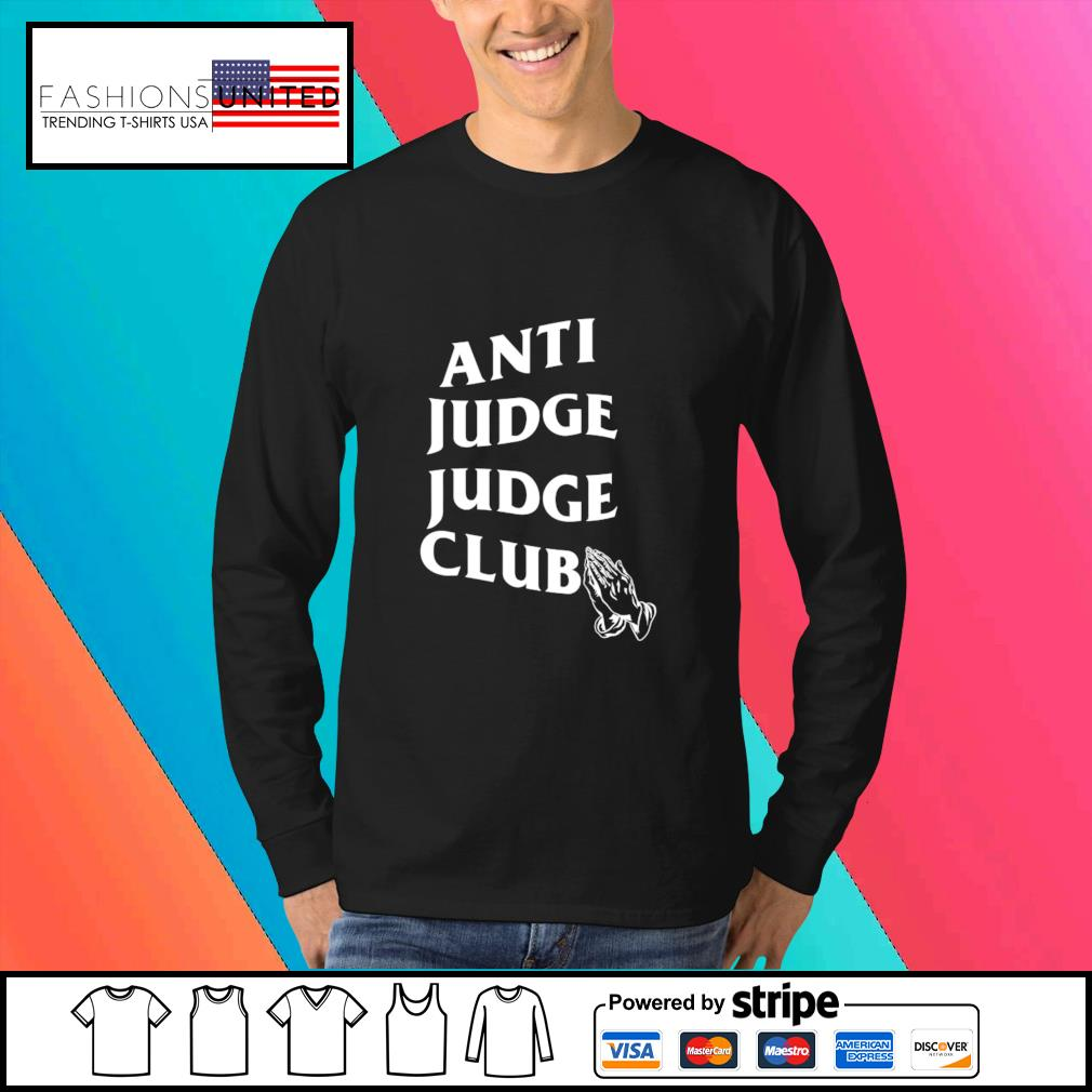 The Judge Anti Judge Judge Club s Sweater