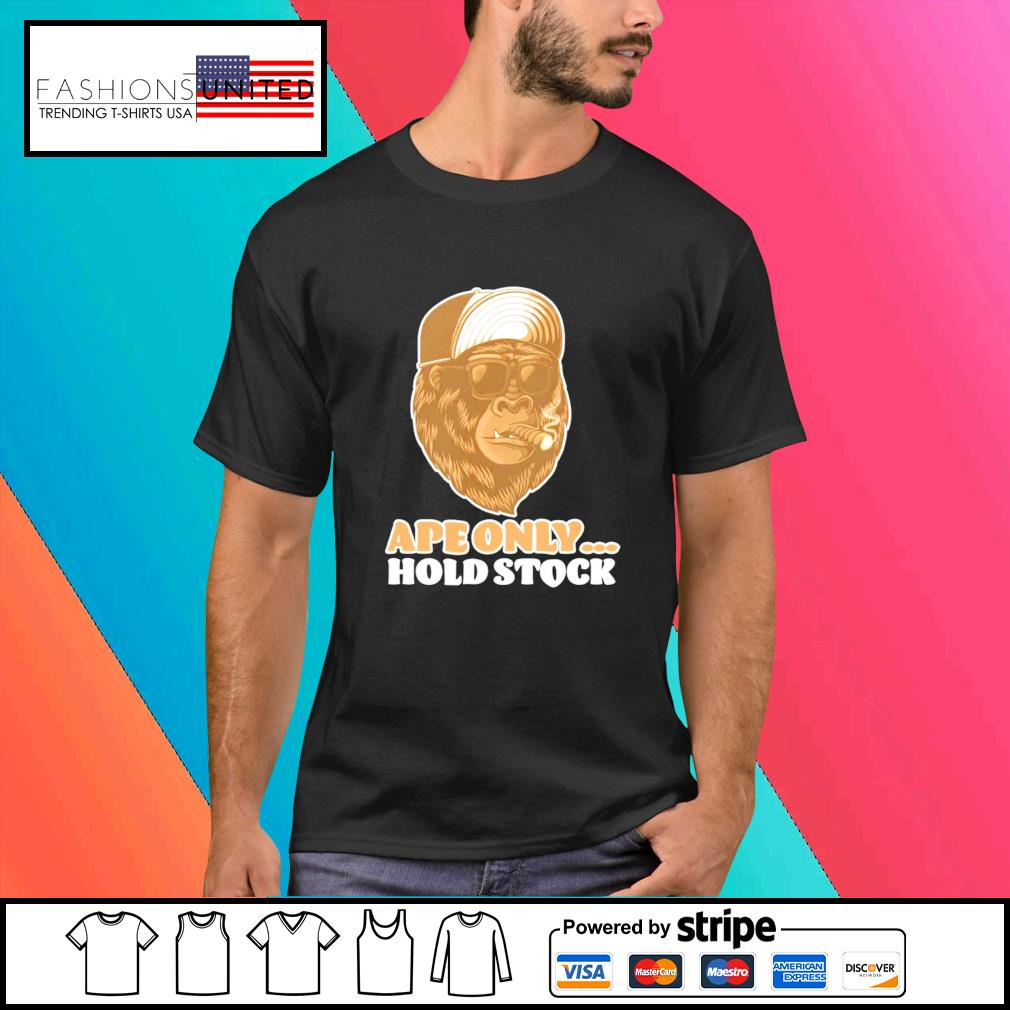 The Stock AMC apes only hold shirt