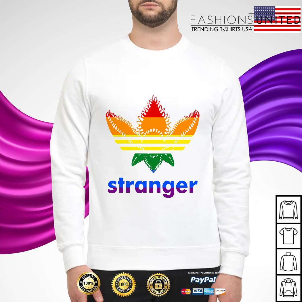 LGBT Stranger Things Adidas Stranger shirt, hoodie