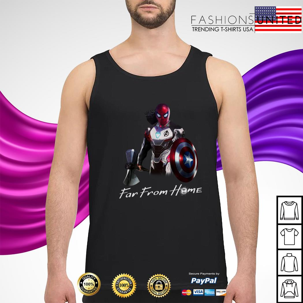 All in one Spider man far from home tank top