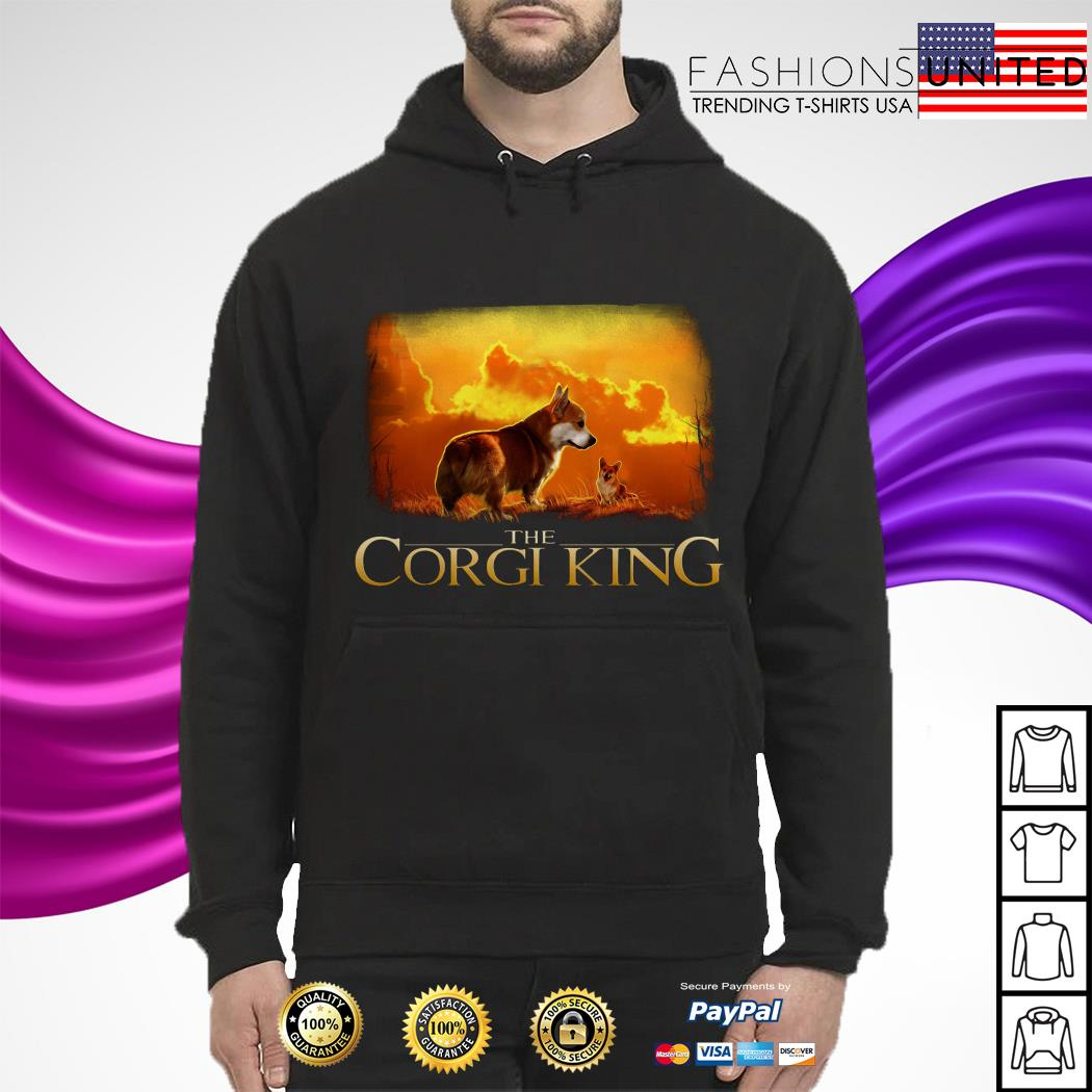 The Corgi King The Lion King Shirt Hoodie Sweater