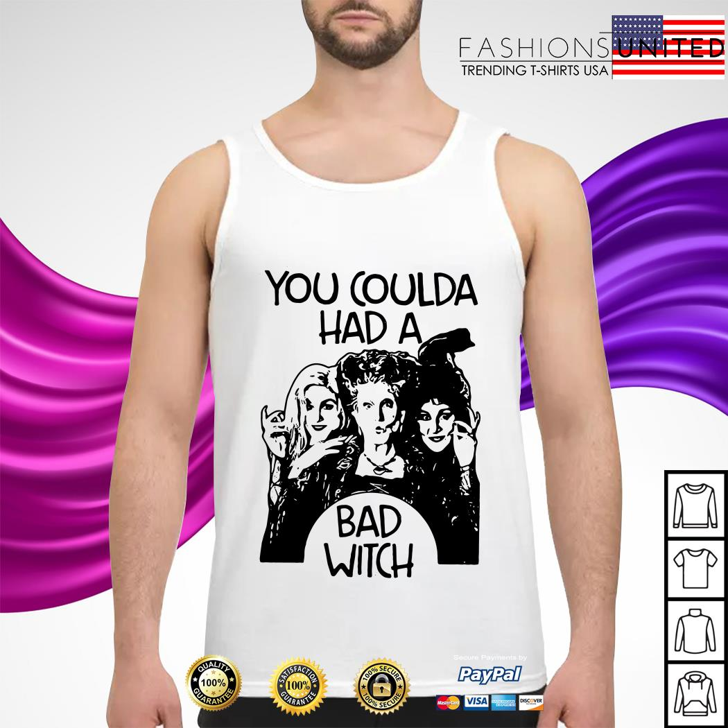 Hocus Pocus You coulda had a bad witch tank-top
