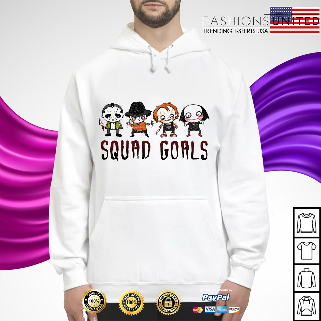 Horror character movie squad goals hoodie