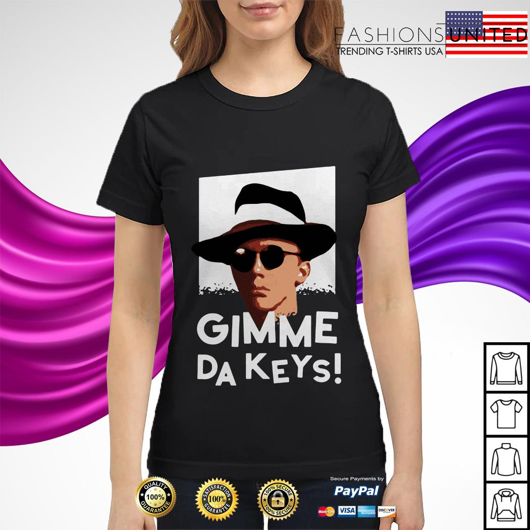 Official Gimme Da Keys ladies tee