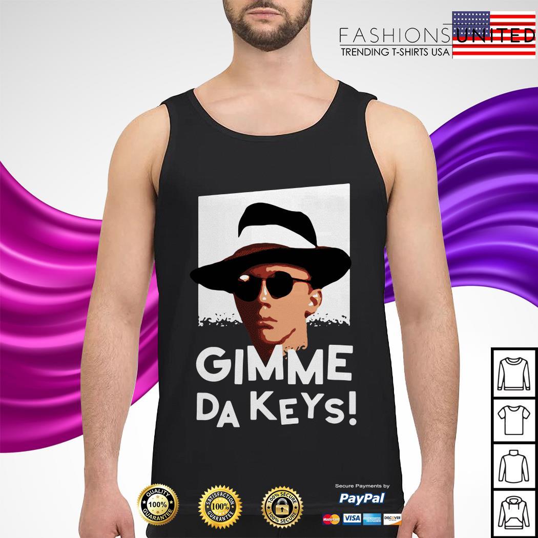 Official Gimme Da Keys tank-top