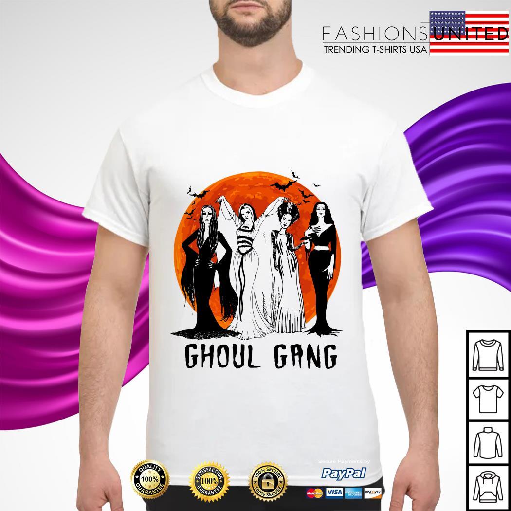 Vogue Ghoul Gang Halloween moon shirt