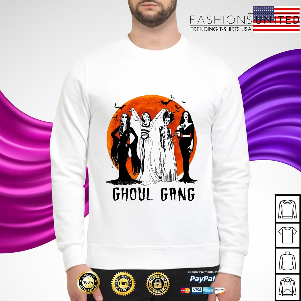 Vogue Ghoul Gang Halloween moon sweater