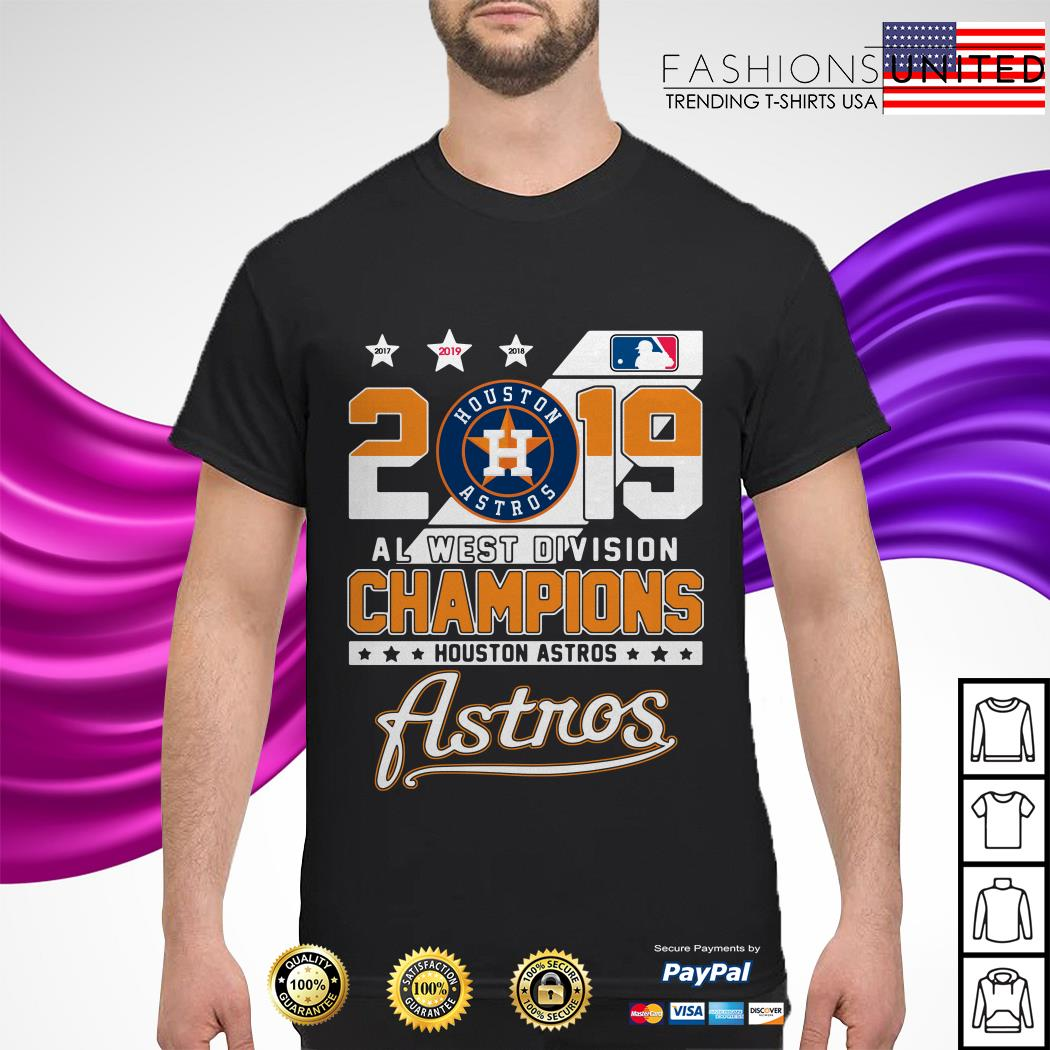 2019 Al west division Champions Houston Astros shirt
