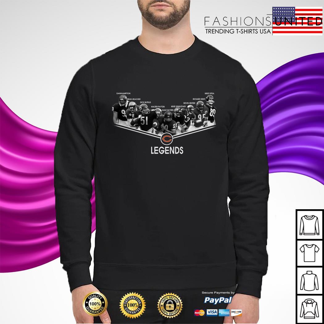 Chicago Bear legends signature sweater
