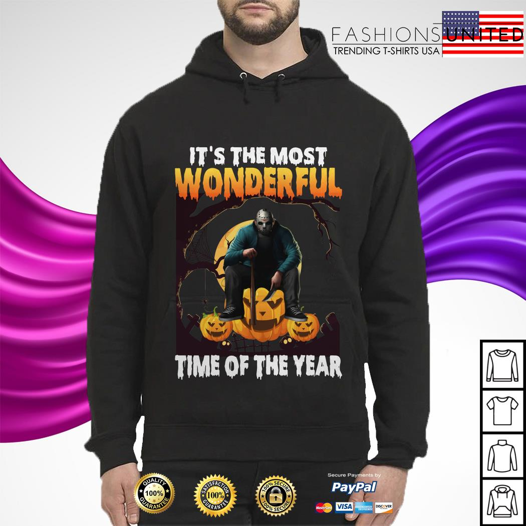 Jason Voorhees It's the most wonderful time of the year hoodie