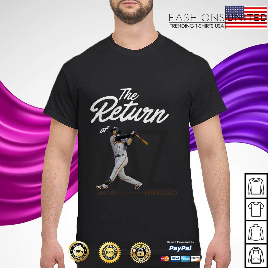 The Return of YAZ Boston San Francisco shirt