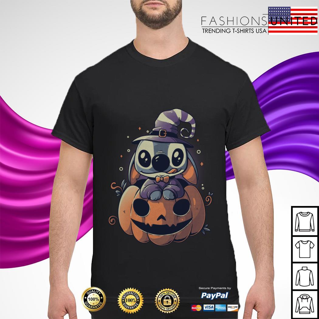 Stitch Pumpkin Halloween shirt