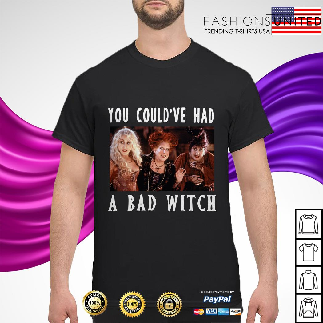 You could've had a bad witch shirt