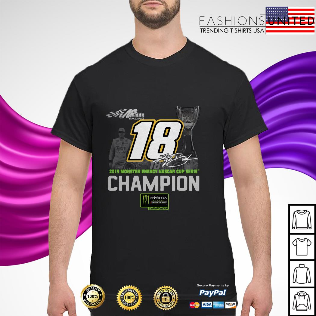 18 2019 monster energy nascar cup series Champion Signature shirt