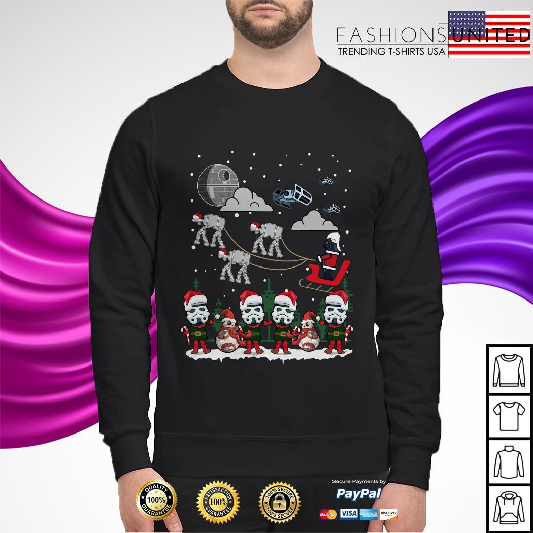 Star Wars Darth Vader Santa Christmas sweater