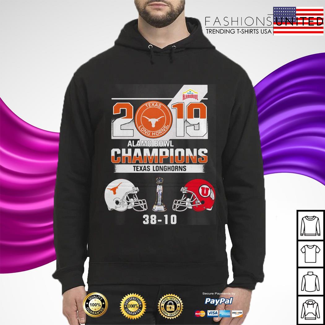 2019 Texas Longhorns Alamo Bowl Champions hoodie