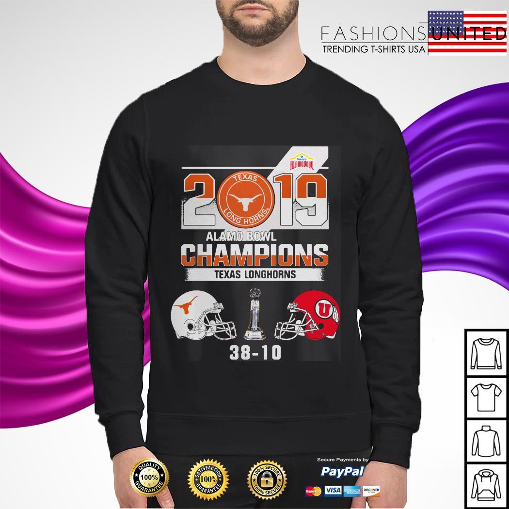 2019 Texas Longhorns Alamo Bowl Champions sweater