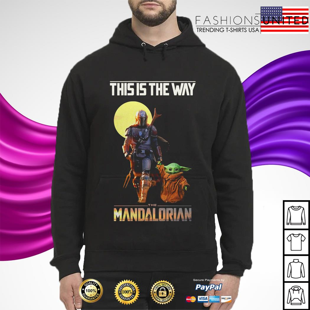 Baby Yoda this is the way The Mandalorian hoodie
