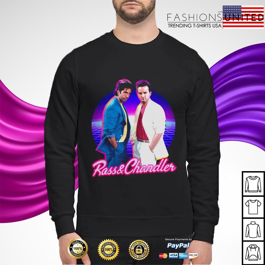 Rass and Chandler friends sweater