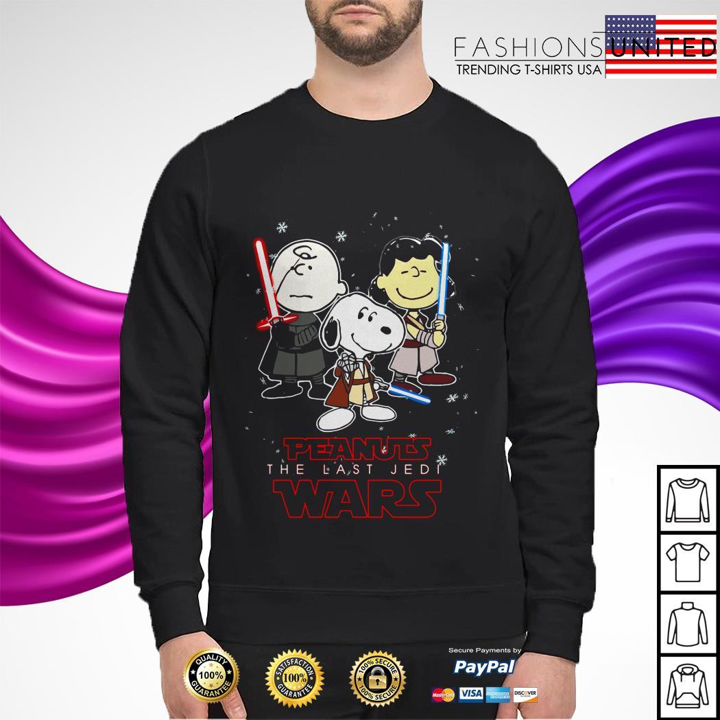 Snoopy Peanuts the last Jedi Wars Star Wars sweater