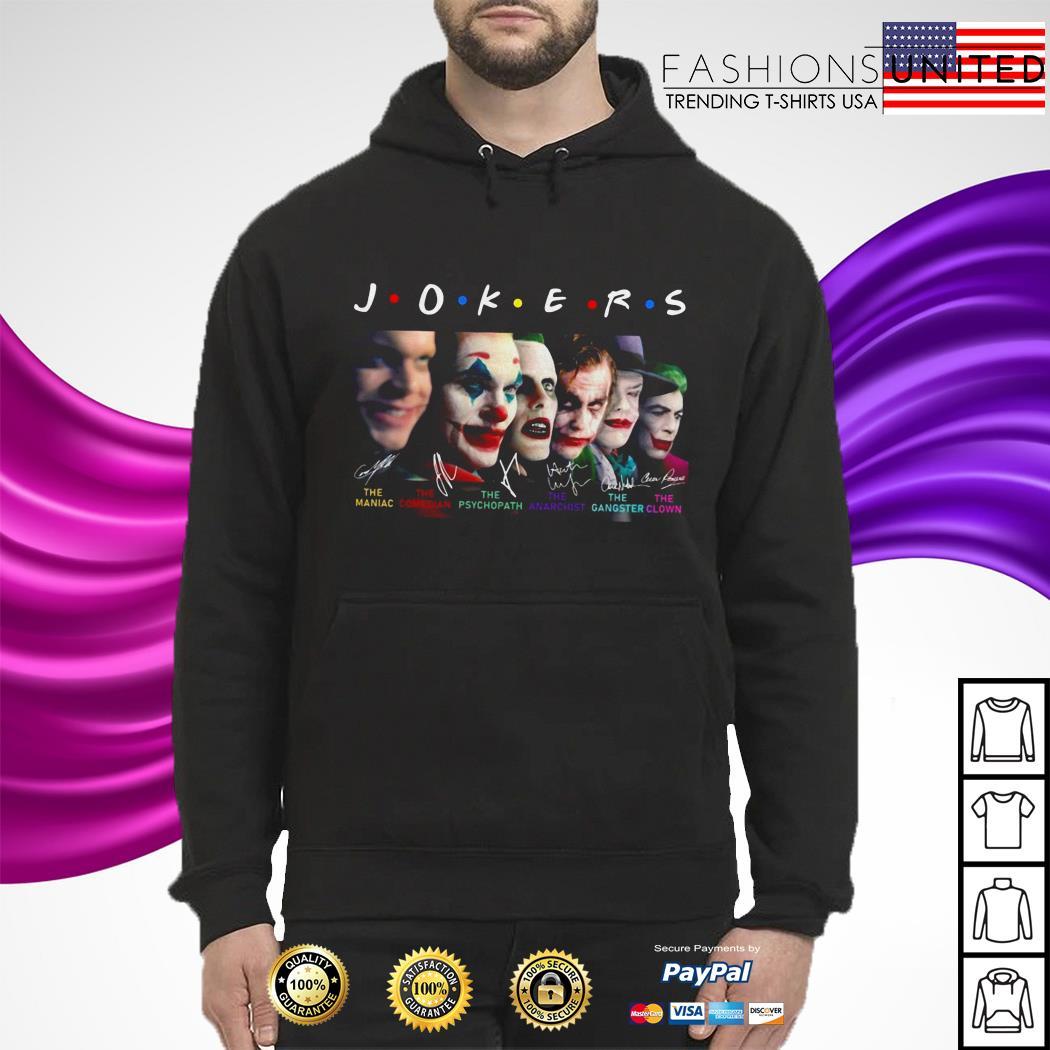Jokers Friends all version signature hoodie