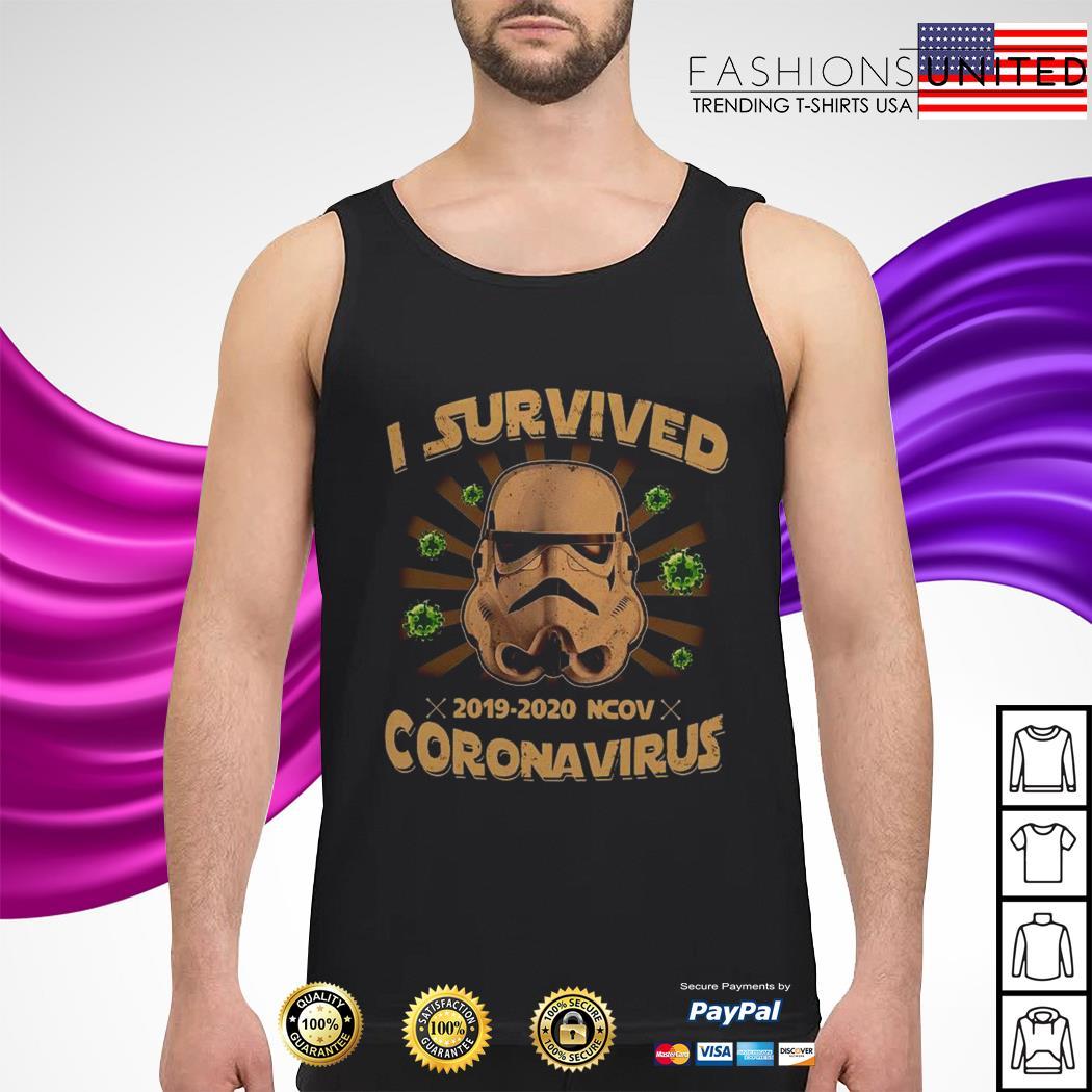 I survived 2019 2020 ncov coronavirus tank-top