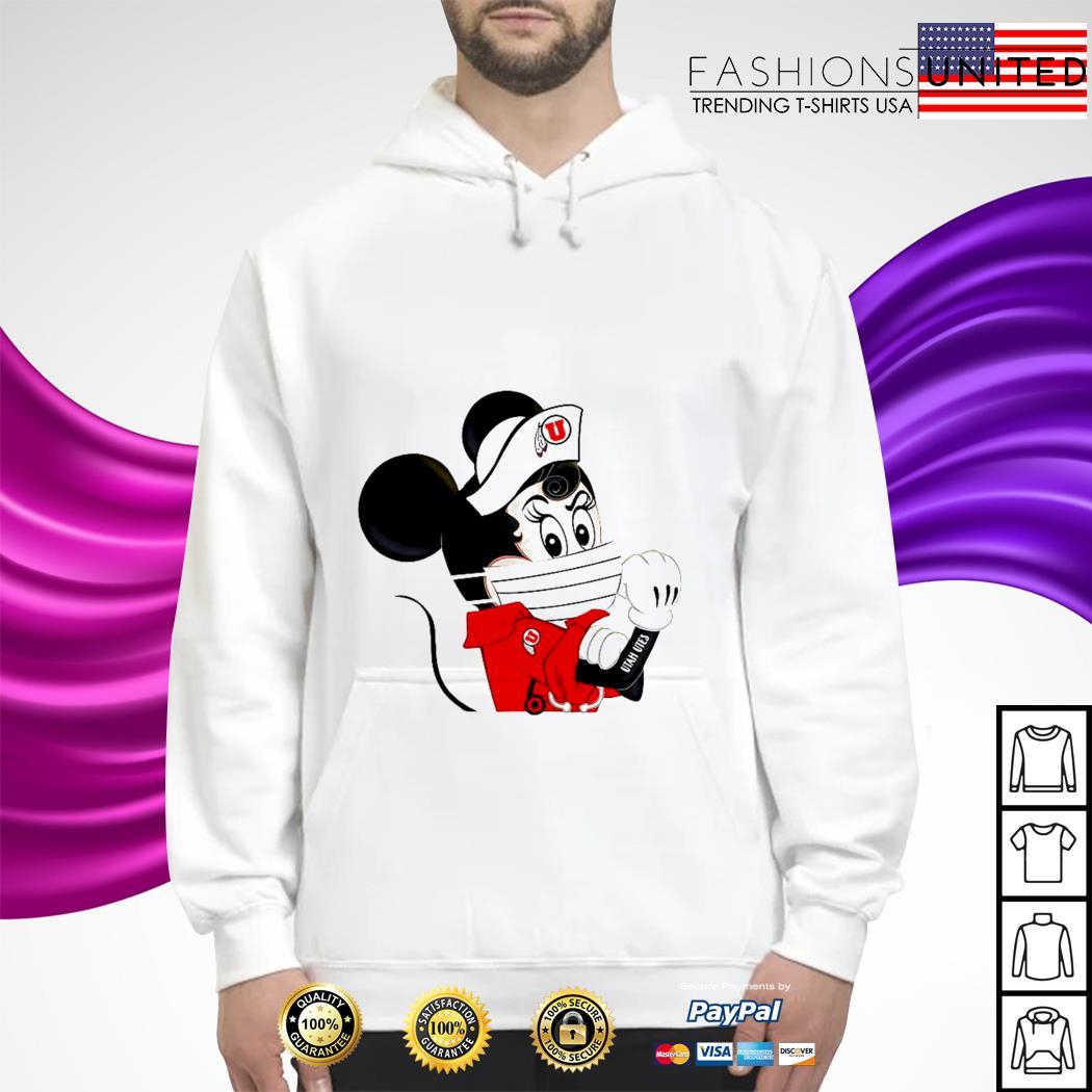 Mickey Utah utes tattoo hoodie