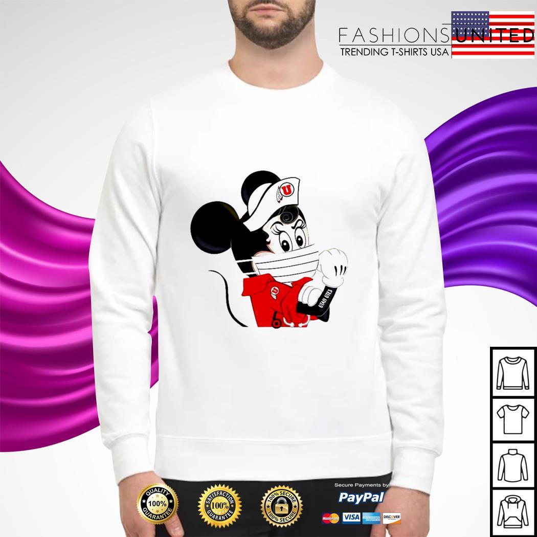 Mickey Utah utes tattoo sweater