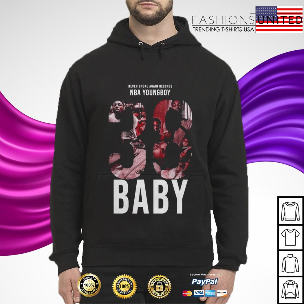 Never broke again records nba youngboy Baby hoodie