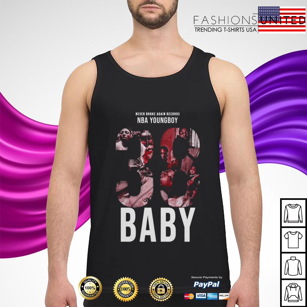 Never broke again records nba youngboy Baby tank-top