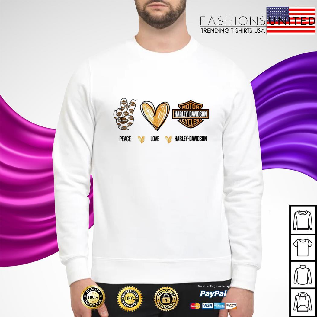 Pace love Harley Davidson sweater