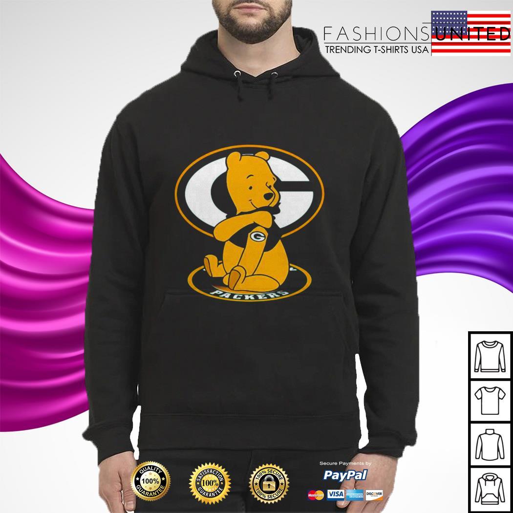 Pooh Green Bay Packers Tattoo hoodie