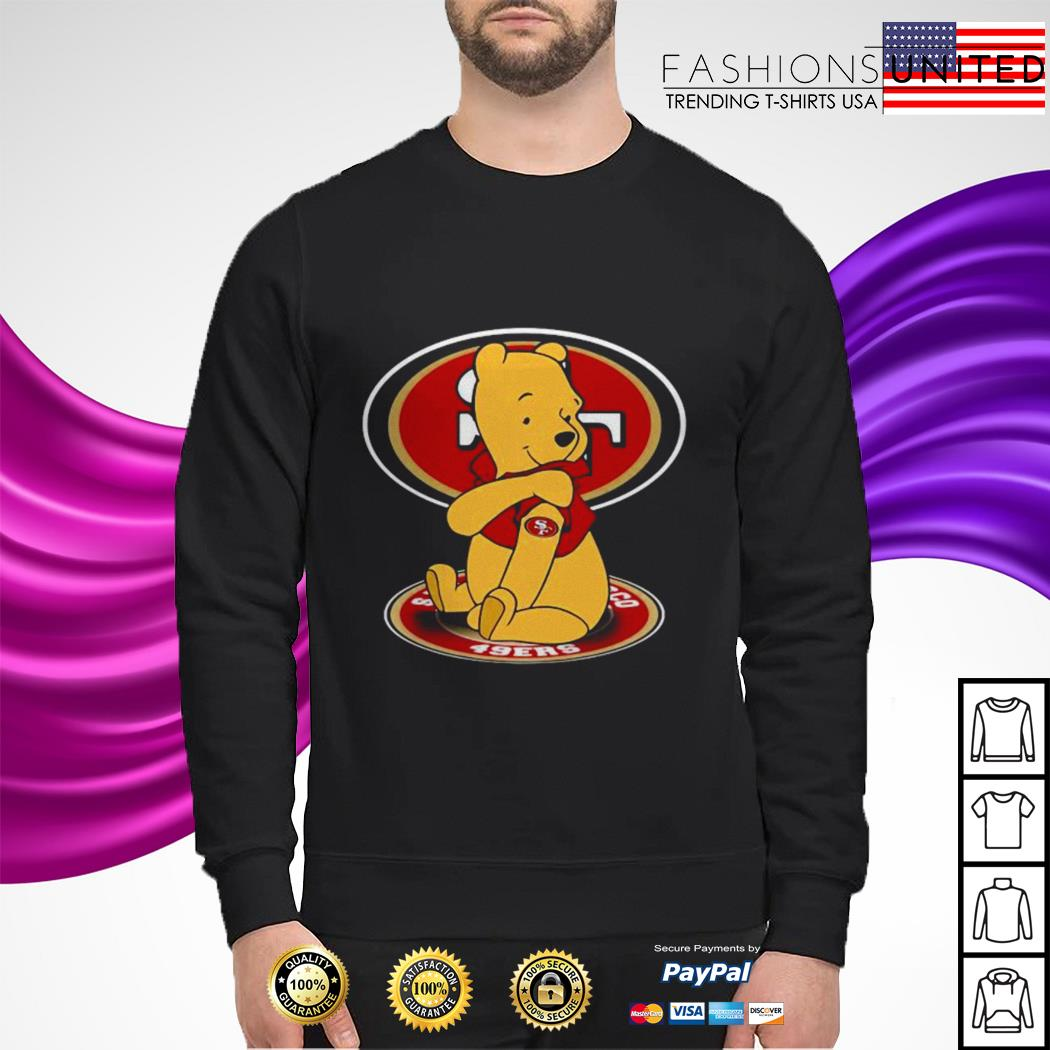 Pooh Tattoo San Francisco 49ers sweater