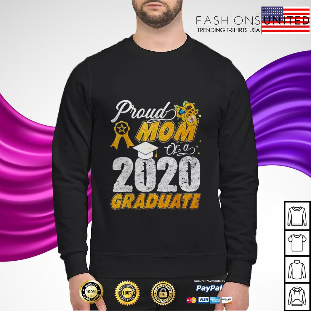 Proud mom of a 2020 graduate sweater