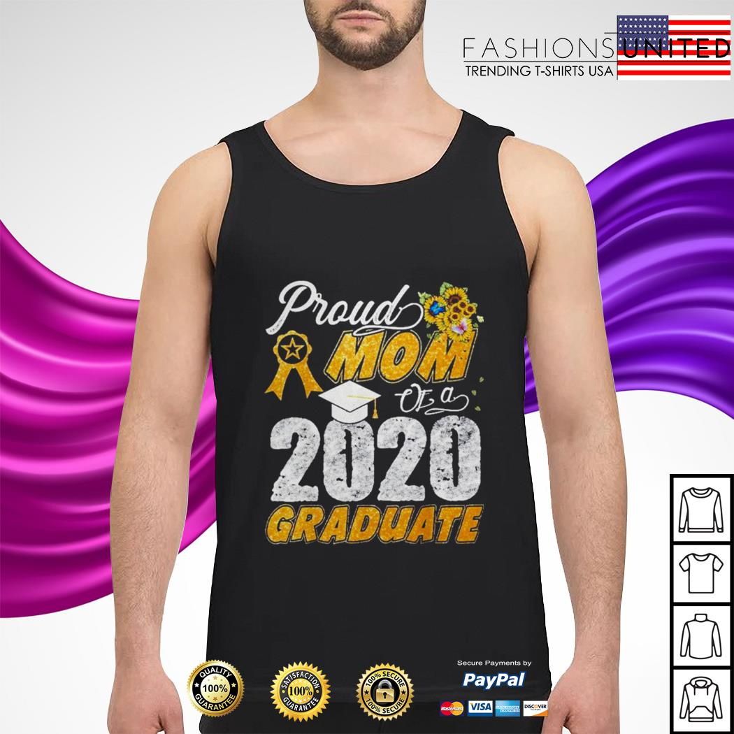 Proud mom of a 2020 graduate tank-top