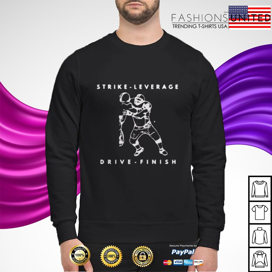 Strike leverage drive finish sweater