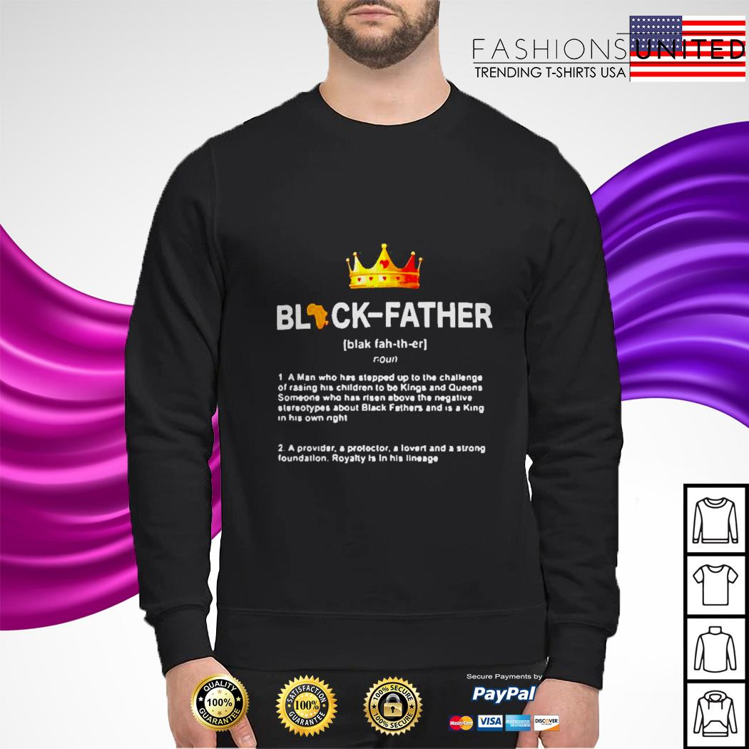 Black father a man who stepped sweater