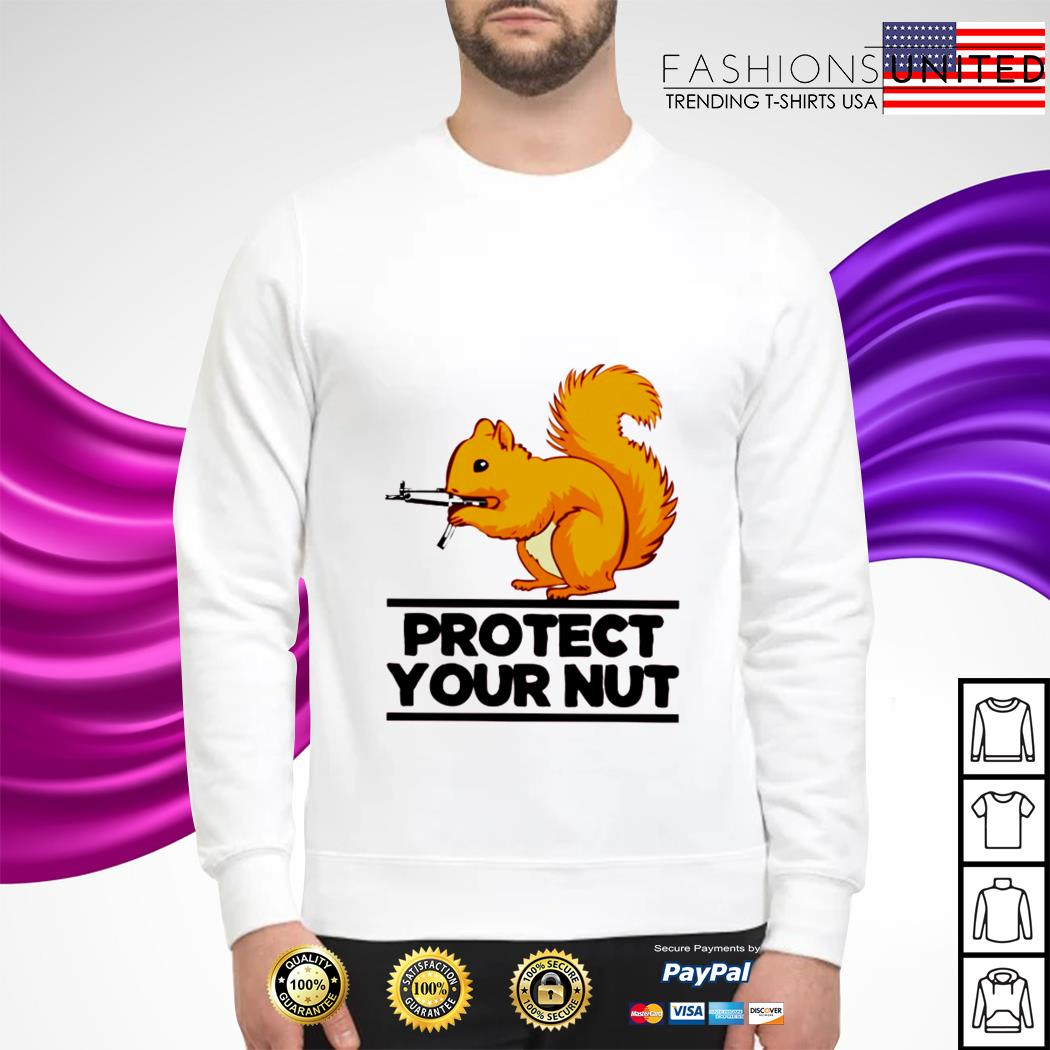 Squirrel protect your nut sweater