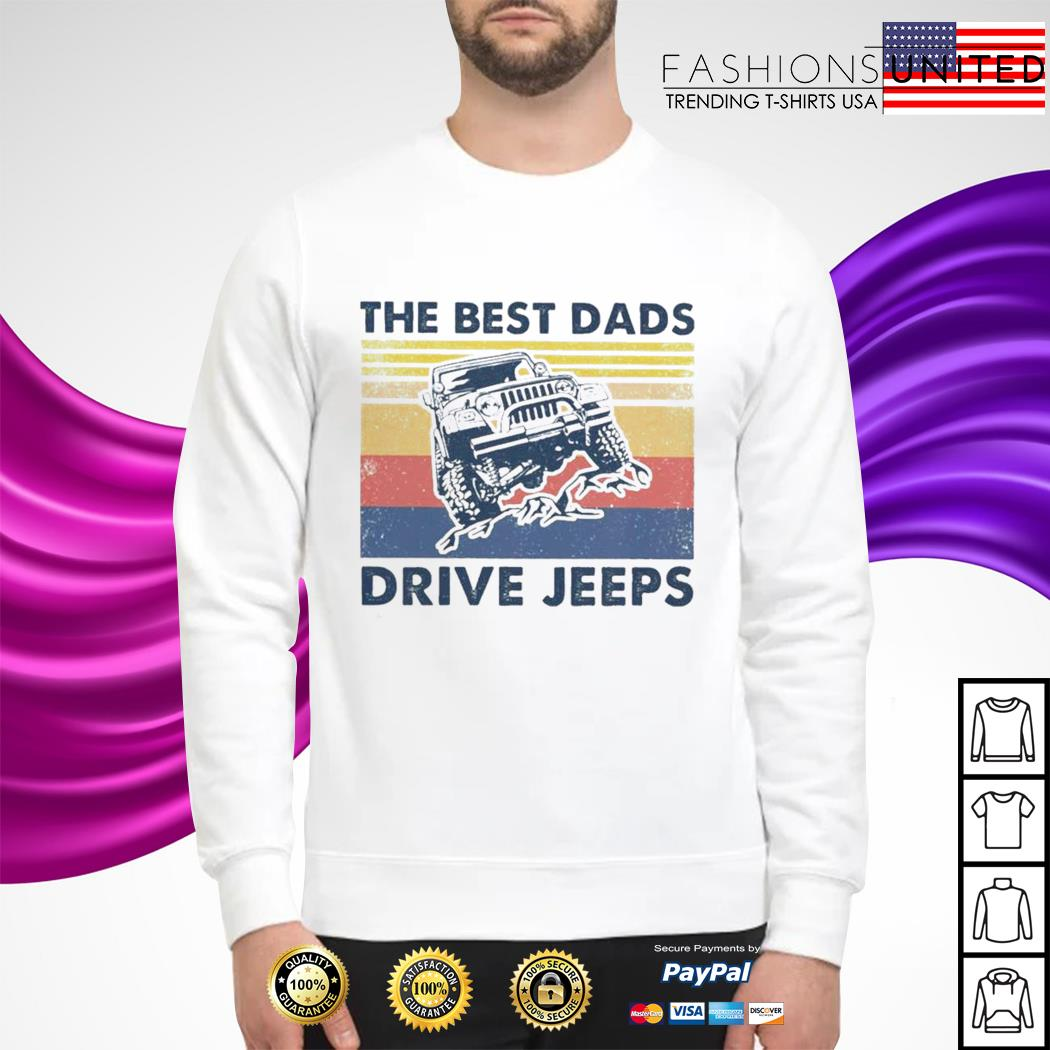 The best dads drive jeeps vintage sweater