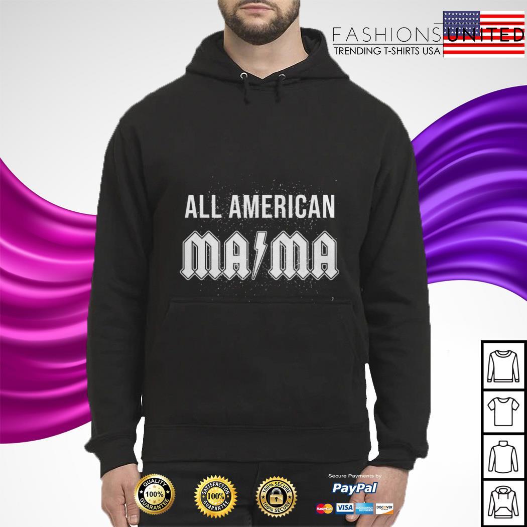 All american mama hoodie
