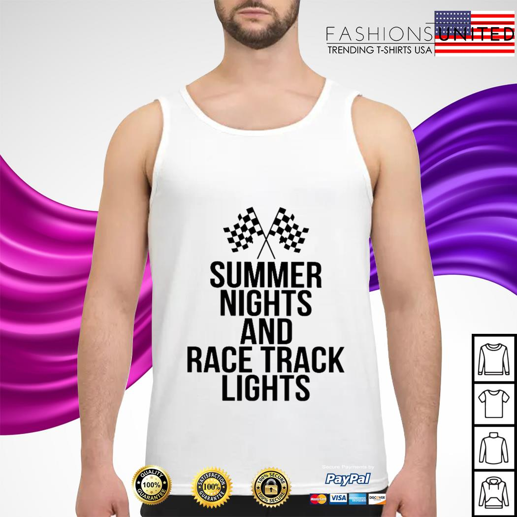 Summer nights nights and racetrack lights Tank-Top