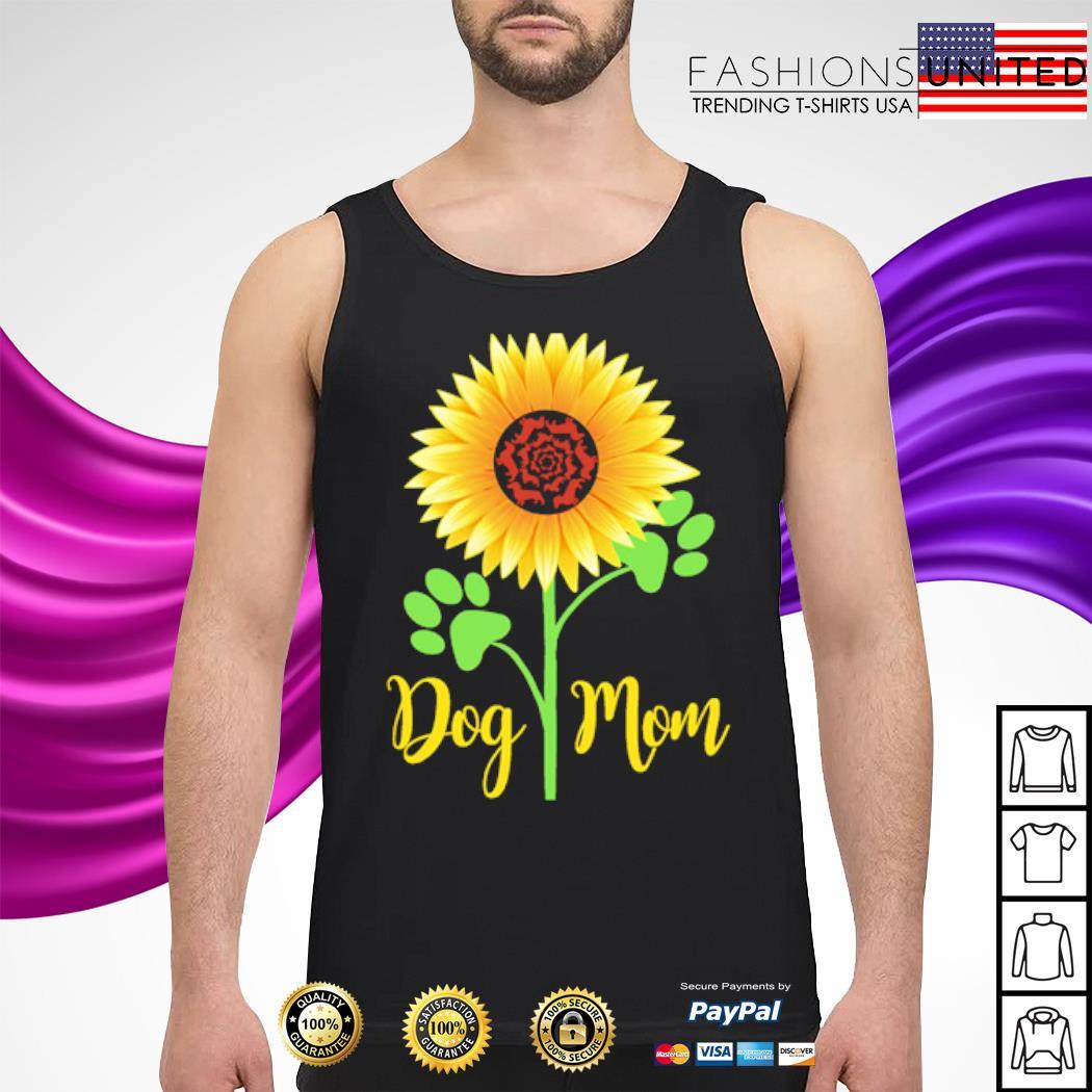 Dachshund Sunflower dog mom s tank-top