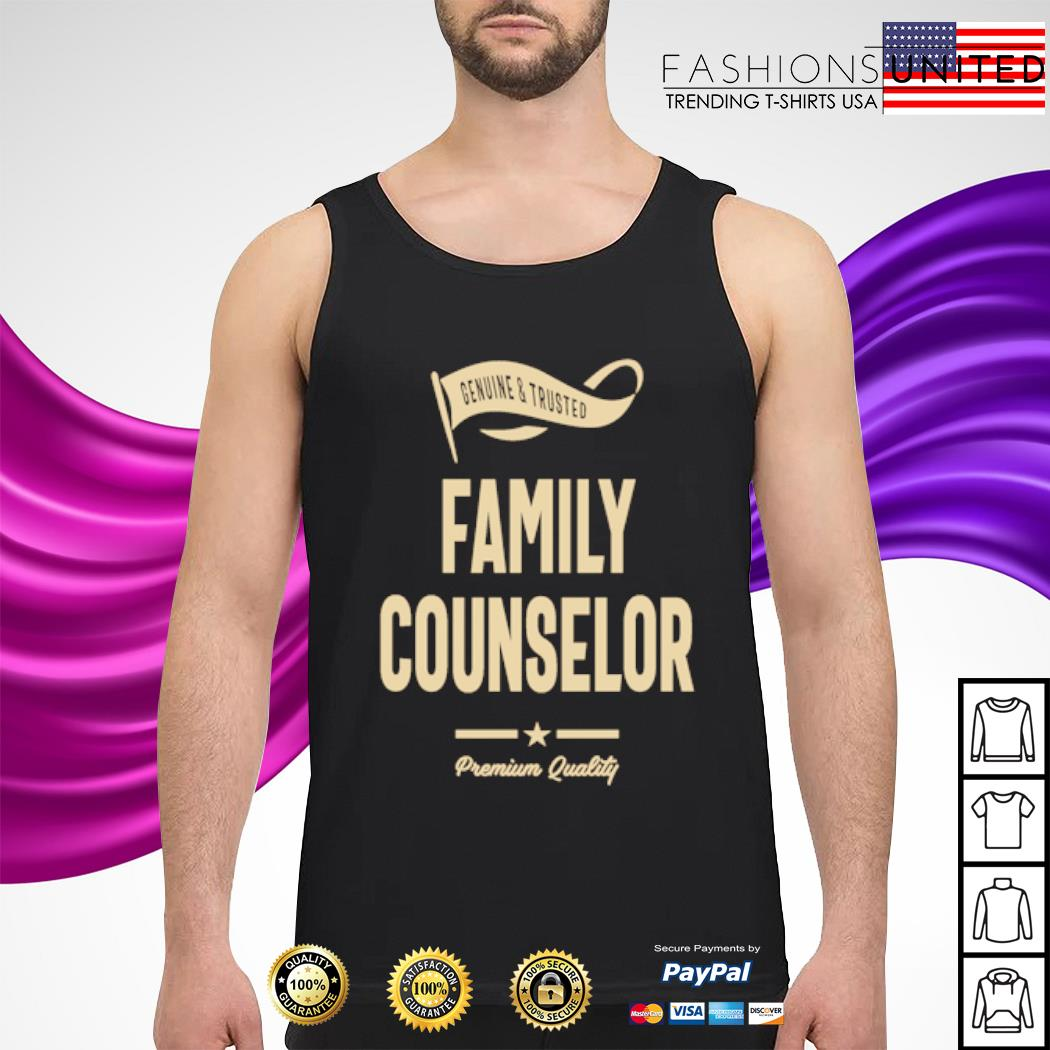Genuine and trusted family counselor premium quality s tank-top