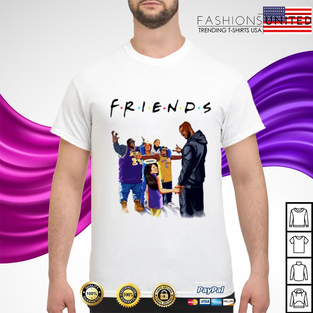 Kobe Bryant and daughter Biggie Tupac friends shirt